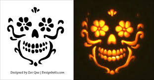10 free scary cool pumpkin carving stencils patterns