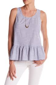 striped blouse beachlunchlounge sleeveless striped blouse nordstrom rack