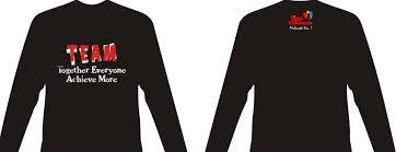 desain baju kaos hitam polos desain kaos distro depan belakang lengan panjang styles kekinian
