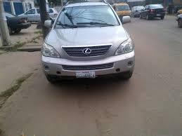 lexus rx 400h for sale in nigeria neat used lexus 2005 rx400h price 2 500 000 autos nigeria