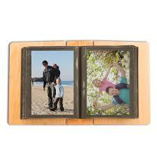 4 X 6 Photo Album Of Memories Maple Wood 4x6 Photo Album For Dad