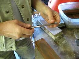 sharpening wood carving tools youtube