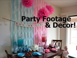 gender reveal party decorations gender reveal party footage decor
