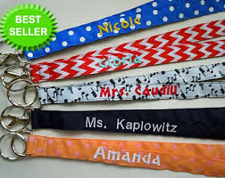 Personalized Pictures With Names Personalized Lanyards