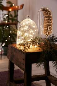 holiday decor hack put a cloche on it decorating lonny