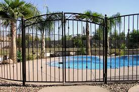 decorative wrought iron pool fencing sun king fencing