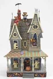 boyds bears jim shore figurine scaredybear u0027s haunted hideaway