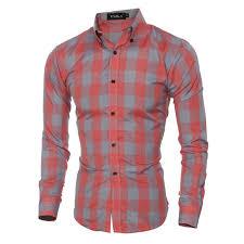 selling new men u0027s dress shirts plaid tops long sleeve single