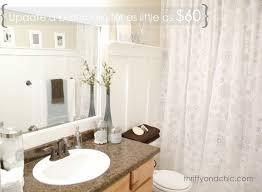 easy bathroom makeover ideas simple bathroom makeovers artenzo