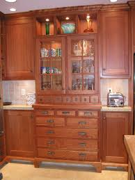 built in china cabinet designs mission style kitchen cabinets pictures new cherry kitchen