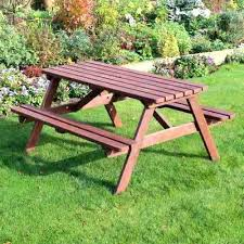 rustic outdoor picnic tables rustic convertible garden table 6 wooden picnic table a frame pine