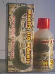 minyak lintah super oil herbal pembesar penis alami agen alat