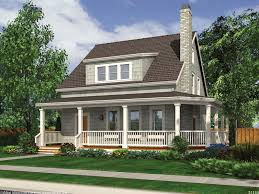 front porch home plans charming 3 bedroom cottage house plan features a wraparound porch