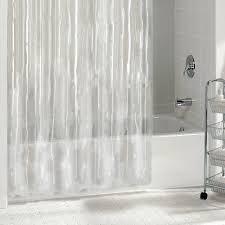Hookless Vinyl Shower Curtain Extra Long Fabric Shower Curtain Fancy Shower Curtains Simple