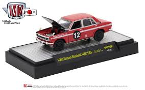 nissan datsun old model m2machines releases classic nissan lineup of 1 64 scale diecast