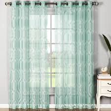 Mint Green Sheer Curtains Interior Marvellous Curtain Sheers With Cute Color For Window