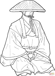 samurai coloring pages samurai coloring page handipoints coloring