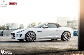 jaguar f type custom the impeccable exterior changes noticed on custom white jaguar f