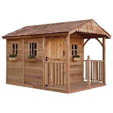 Red Cedar Shingles Home Depot by Outdoor Living Today Santa Rosa 12 Ft X 8 Ft Cedar Garden Shed
