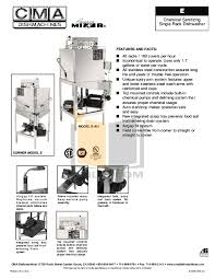 Cma 180 Dishwasher Manual Download Free Pdf For Cma Ec Dishwasher Manual