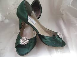 wedding shoes green wedding shoes green bridal shoes with flower swirl