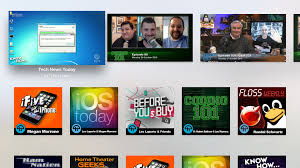 twit apps available on new apple tv boxes the twit network apple tv app by intentionally blank
