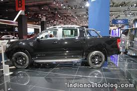 ranger ford 2017 ford ranger black edition side at iaa 2017 indian autos blog