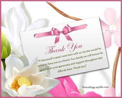 thank you for sympathy card thank you note to friend wedding thank you notes wording best 25