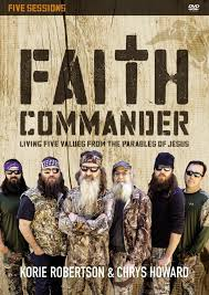 duck dynasty robertson family to release faith commander