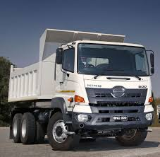 hino 500 wide cab 2836 tipper truck