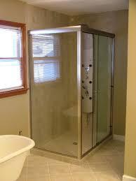 3 8 glass shower door frameless glass shower door installation in williamsburg virginia