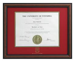 degree frames degree frames alumni the of winnipeg