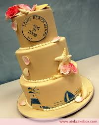 beach themed cakes pink cake box custom cakes u0026 more
