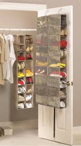 small closet behind the door portable hanging shoe rack storage for saving small