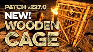 torture cage new ark survival evolved wooden cage fireplace