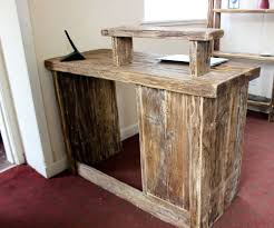 Cheap Salon Reception Desks by Hairdresser Salon Spa Barber Hotel Rustic Solid Driftwood Wood