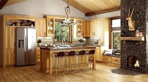 hickory kitchen cabinet hardware kitchen cabinet rustic knotty alder cabin cabinets how to make oak