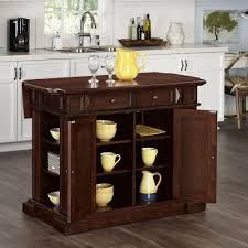 americana cherry kitchen island with storage 5005 944 the home depot