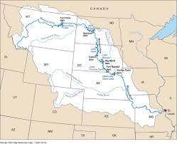 Lake Sakakawea Map Figure 1 Missouri River Basin And The Six Mainstem Dams A U2026 Flickr