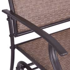 patio rocking chairs metal patio glider rocking 2 person outdoor bench outdoor chairs