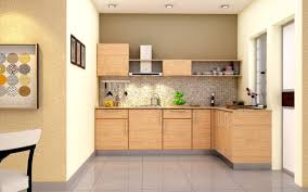 inspiring modular kitchen design ideas with l shape brown color