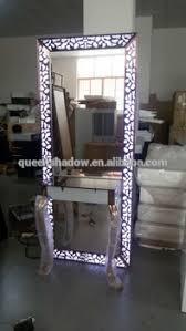 salon mirrors with lights beauty salon mirror with light stainless steel salon mirror station