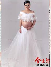 Pregnancy Wedding Dresses 2016 Summer Style Wedding Pure White Long Chiffon Sun Protection
