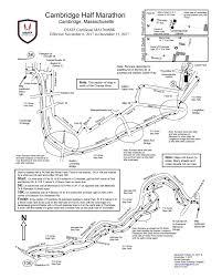 Boston University Map Cambridge Half Usatf Ma17008bk U2014 Cambridge Half Marathon