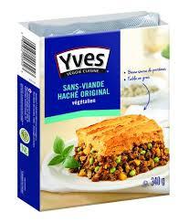 cuisine sans viande revue en vedette par brand power sans viande haché d yves