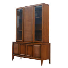 antique hutch with glass doors 52