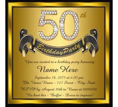 free 50th birthday invitations templates gallery invitation