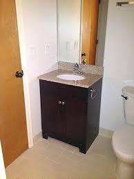 How To Install A New Bathroom Vanity by How To Replace And Install A Bathroom Vanity