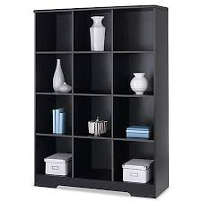 realspace magellan 12 cube bookcase espresso by office depot