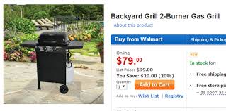 Backyard Grill Gas Grill by Deals For Grills 2 Burner Gas Grill 20 000 Btu 79 00 Coupons